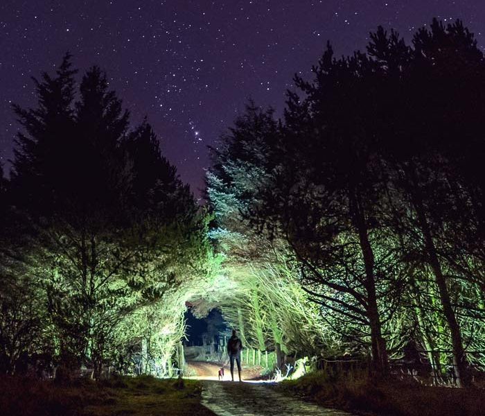 Night Photography in County Antrim